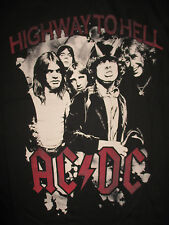 "2010 AC DC ""HIGHWAY TO HELL"" (LG) T-Shirt ANGUS YOUNG BON SCOTT"