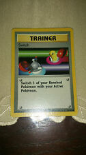 Switch Pokemon Card COMMON Trainer [BASE SET]