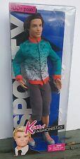 RARE Ken Fashionista Sporty Ryan NIP NIB Brunette Outfit Fashion Barbie Doll