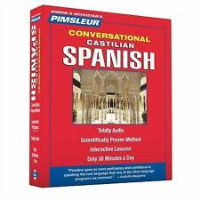 Castilian Spanish 1 by Pimsleur (2012, CD)