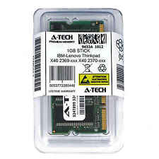 1GB SODIMM IBM-Lenovo Thinkpad X40 2369-xxx 2370-xxx 2371-xxx Ram Memory