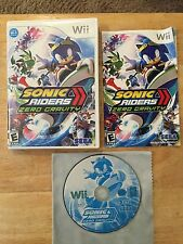 Sonic Riders: Zero Gravity Nintendo Wii System Complete Game