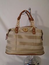 New Handbag Tommy Hilfiger Purse Beige Bowler 6935529  235
