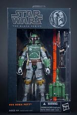 STAR WARS The Black Series: #06 Boba Fett The Force Awakens Figure REPLICA NEW
