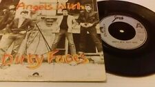 SHAM 69 ~ ANGELS WITH DIRTY FACES ~ UK 7""