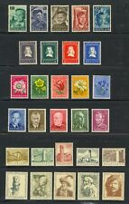 Netherlands - semi-postal collection (Catalog Value $167.00)
