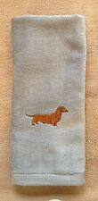 Dachshund, Smooth Dachshund, Doxie,Towel, Embroidered, Custom, Personalized, Dog