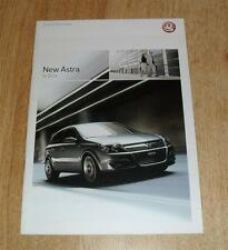 Vauxhall Astra Brochure 2004 Club SRI SXI Design Elite 2.0 Turbo 1.7 CDTI 1.6