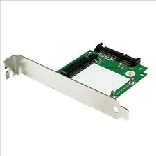StarTech.com SATA to mSATA SSD Adapter with Full and Low Profile Brackets - SATA
