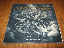 "VARATHRON / DEN SAAKALDTE ""Old Demons Rise"" Split 7""  taake rotting christ"