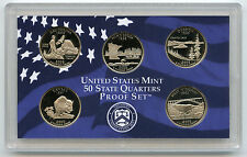 2005 State Quarters Proof Set - 5-Coins U.S. Mint Official