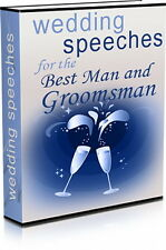 WEDDING Speeches For The Best Man Or Groomsman - Are You Stuck For Words? (CD)