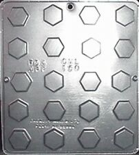 Hexagon Piece Chocolate Candy Mold Candy Making 150 NEW