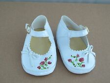 """Doll SHOES for a Small Himstedt doll Handpainted 5"""" long"""
