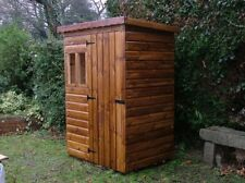GARDEN SHEDS NEW 4' x 3'  PENT ROOF ALL TIMBER
