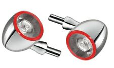KELLERMANN Blinker Bullet 1000 DF LED Chrom (2 Stück) Chopper Bobber