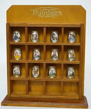 Collection of 12 HUMMEL 2nd Edition Silver Plated Enamel Thimbles [PL2508]