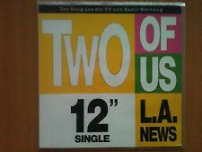 L.A. News (Frank Farian) - Two of us 12'' Disco Vinyl