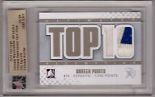 PHIL ESPOSITO 10/11 ITG Ultimate Redemption PATCH Top 10 Career Points #d /9 SP