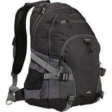 High Sierra Loop Backpack - Black School & Day Hiking Backpack NEW