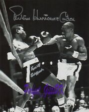 Rubin Hurricane Carter Emile Griffith 10x8inch Re-Pro Signed Autographed Photo