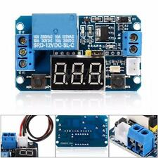 12V LED Digital Programmable Timer Timing Relay Delay Switch Module Self-lock