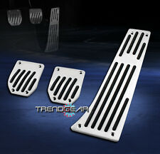 BMW MT MANUAL ALUMINUM RACING PEDAL PADS SET COVER KIT E32 E38 E63 E88 E93 M6 Z4