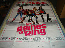AFFICHE  BERRY / BAYE / CATCH / LES REINES DU RING
