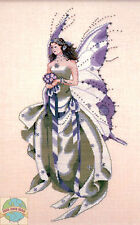 Cross Stitch Chart / Pattern ~ Mirabilia July's Amethyst Fairy #MD59