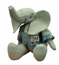 Eddie cute soft toy felt elephant sewing kit by pcbangles