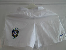 Brazil Away 2002-2004 Football Shorts 12 Years Kids Waist /bi