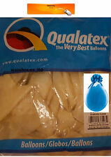"Diamond Clear Qualatex 18"" Latex Balloons x 25 - Stuffing or Air Fill"