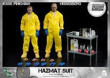 Threezero Breaking Bad Heisenberg+Jesse Hazmat Suit Combo Figure Exclusive Ver