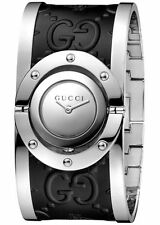 NEW  Gucci Women's watch Twirl YA112441 Analog Stainless Steel Leather