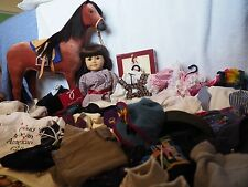 """Samantha American Girl Doll Pleasant Company 18"""" + Horse & 1990s Accessories"""