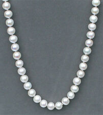"24"" Freshwater cultured pearl (9-10 mm) necklace  NKL040006"