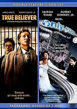 ROBERT DOWNEY JR DOUBLE FEATURE /True Believer&Only You(NEW DVD!)JAMES WOODS,
