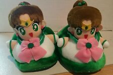 VINTAGE OFFICIAL  SAILOR MOON Jupiter Banpresto PLUSH DOLL slippers