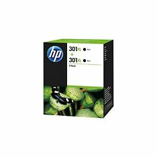 Genuine HP 301XL Ink Cartridges Twin Black for HP DeskJet 1050A 1010 eAll in On
