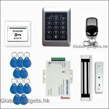 Remote Control RFID Card Door Access Control System with 600lb Magnetic Lock