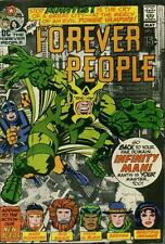 FOREVER PEOPLE #2 F/VF, Jack Kirby C/S/A, Stain on B/C, DC Comics 1971