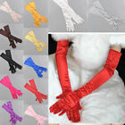 Fashion Satin Long Gloves Opera Wedding Bridal Evening Party Costume Gloves Hot