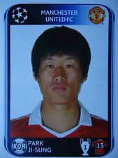 Panini 152 Park Ji-Sung Manchester United UEFA CL 2010/11