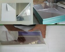 "3mm Two Way / See-Thru Mirror Acrylic Sheet A6 A5 A4 A3 1/8"" x 24"" x 48"" 2 Way"