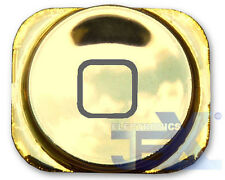 High Quality Mirror Chrome Light Gold Home Button for iPhone 5/5C 16GB/32GB/64GB