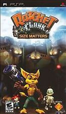 Ratchet & Clank Size Matters UMD PSP BRAND NEW GAME SONY PLAYSTATION PORTABLE