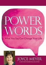 Power Words : What You Say Can Change Your Life by Joyce Meyer (2015, Hardcover)