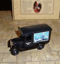 LLEDO -DAYS GONE -  1934 CHEVROLET DELIVERY VAN - RECKITT'S BLUE - MINT & BOXED