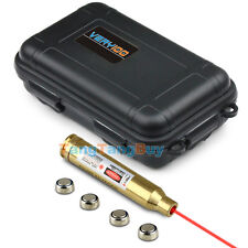Red Laser Bore Sighter 300 Win MAG Cartridge Sight Boresighter + Waterproof Box