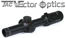 Vector Optics Arbiter Tactical 1-4x24 IR Compact Scope Two Eyes Open Low Profile